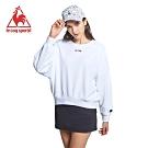 法國公雞牌圓領T恤 LYI2267190-女-白