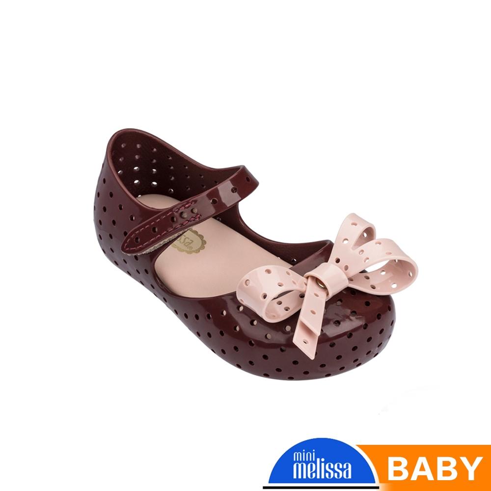 Melissa 蝴蝶結裝飾涼鞋 寶寶款 咖啡