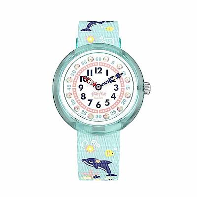 FlikFlak 兒童錶 SWEET DOLPHIN甜蜜海豚