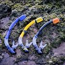AROPEC C型100%全乾式矽膠呼吸管Anemone海葵.浮潛呼吸管 全乾式呼吸管