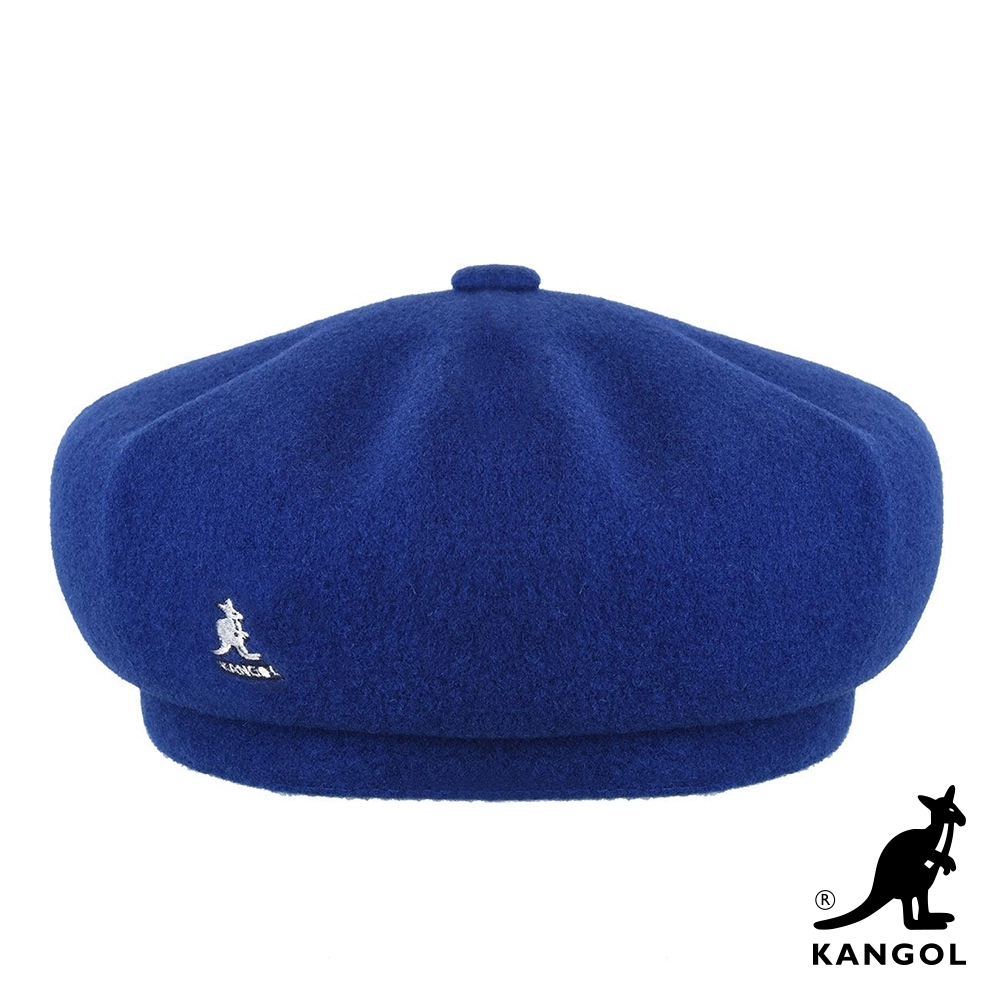 KANGOL-WOOL JAX貝蕾帽-藍色