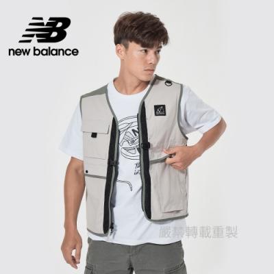 [New Balance]多口袋背心_男款_卡其_MV11850TWF