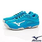MIZUNO童鞋 止滑競速運動鞋款 ON80398藍(中大童段)