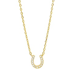 Orelia英國品牌 馬蹄造型金色項鍊