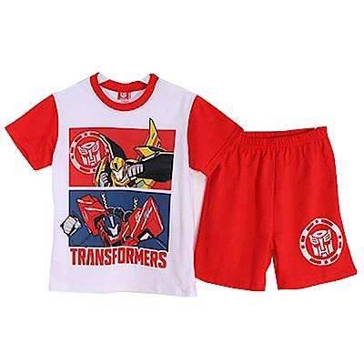變形金剛抗菌純棉短袖套裝 紅 k50345 魔法Baby