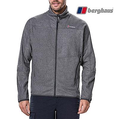 【Berghaus貝豪斯】男款刷毛保暖外套H22M45灰色
