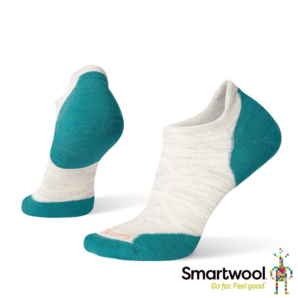 SmartWool 女 PhD輕量菁英減震型跑步踝襪  塵灰色