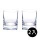 義大利Luigi bormioli 正方形威士忌杯(2入禮盒組) product thumbnail 1