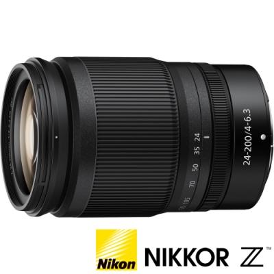 ★贈禮券+延保★ NIKON Nikkor Z 24-200mm F4-6.3 VR (公司貨) 變焦旅遊鏡 Z 系列微單眼鏡頭
