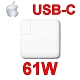 蘋果 APPLE 61W TYPE-C USB-C 變壓器 MacBook PRO 13吋 A1706 A1708 A1718 MNF72Z/A 相容 20.3V 3A,9V 3A,5.2V 2.4A product thumbnail 1
