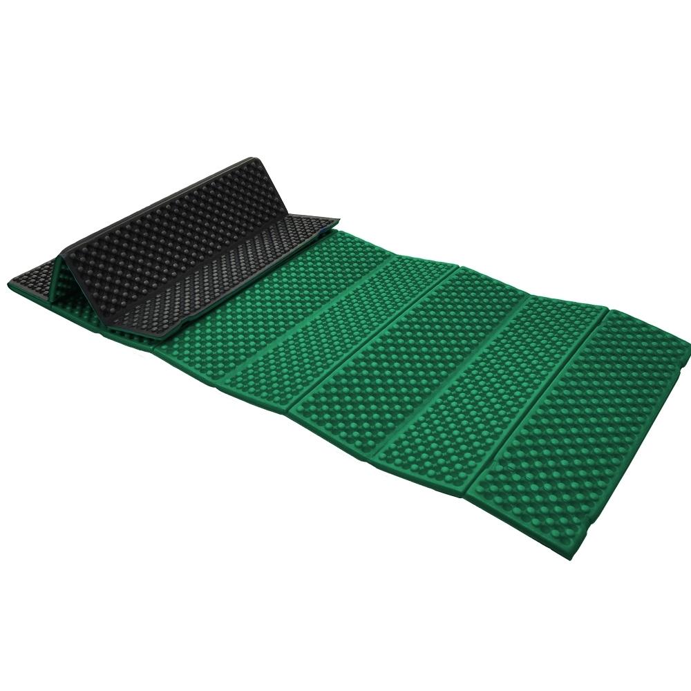 防水露營睡墊 折疊睡墊 蛋巢型設計 57x190cm (綠色)