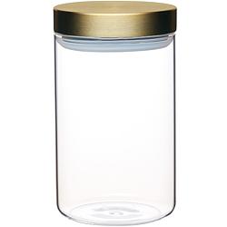 《Master》直筒玻璃密封罐(1L)