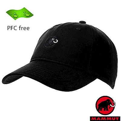 長毛象 新款 Baseball Cap 輕量防風透氣棒球帽_黑/幻影黑