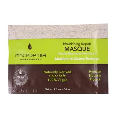 Macadamia Professional 瑪卡奇蹟油 潤澤髮膜 30ml(新)