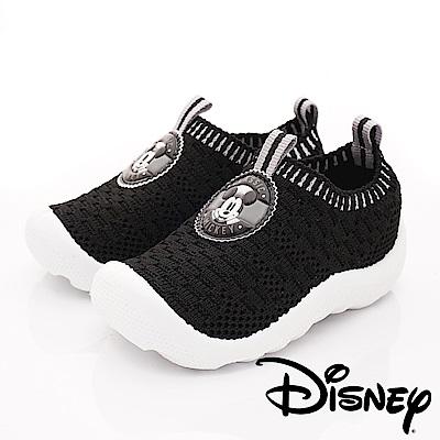 迪士尼童鞋 米奇針織襪套鞋款 ON18825黑(寶寶段)