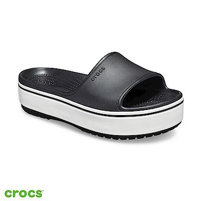 Crocs 卡駱馳 (中性鞋) 厚底卡駱班涼拖 205631-066