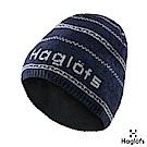 Haglofs Lumi羊毛保暖帽 塔恩藍/石灰