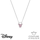 Disney Jewellery by Couture Kingdom 經典米奇粉紫水晶項鍊