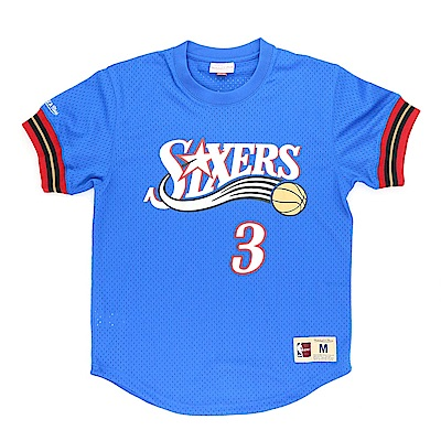 M&N NBA 球員號碼T恤 76人 Allen Iverson