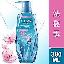 CLEAR淨 植覺保濕舒緩去屑洗髮露-櫻花精萃380ml
