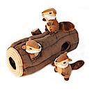 ZippyPaws益智躲貓貓-開心花栗鼠之家  有聲玩具