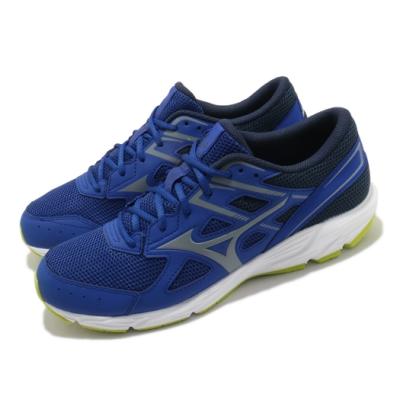 Mizuno 慢跑鞋 Spark 6 運動 男鞋 美津濃 輕量 透氣 舒適 避震 路跑 藍 白 K1GA210340