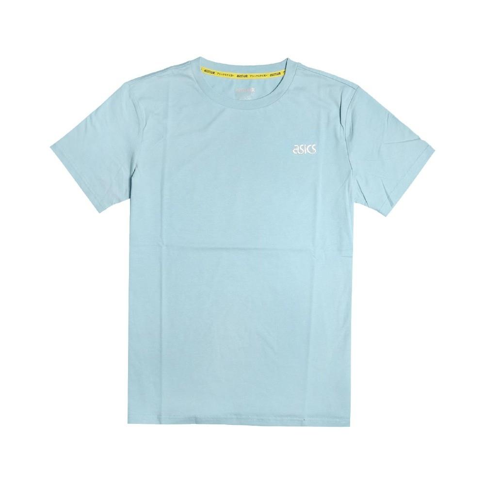 Asics T恤 JSY Tokyo SS T 1 男款 亞瑟士 東京 富士山 塗鴉 圓領 棉質 藍 白 2191A226400