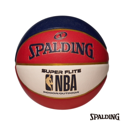 SPALDING NBA SUPER FLITE系列-紅/白/藍 合成皮 #7