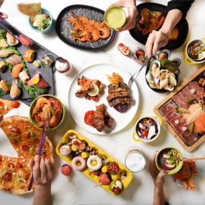W飯店 the kitchen table 2人肉遇之夜自助晚餐或小鮮肉自助早午餐吃到飽