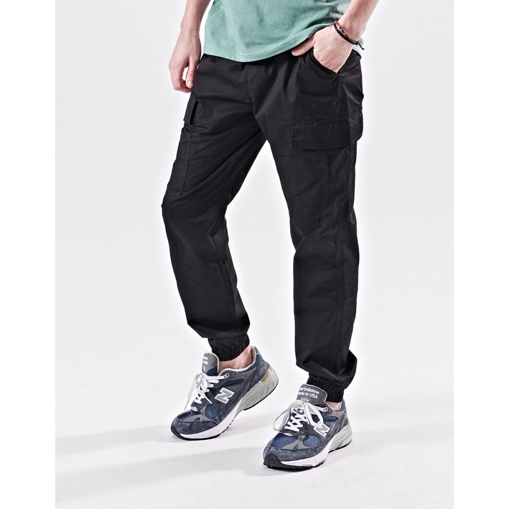 NAVY-側大口袋工作褲(三色)-情侶款-男【B1NA013】