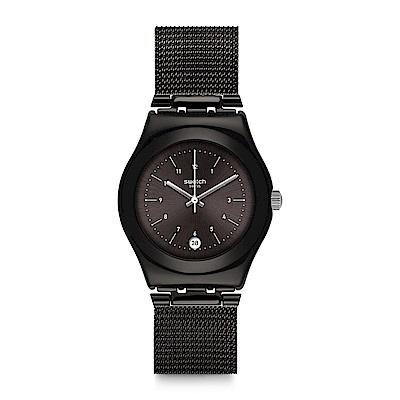 Swatch NERONERO 古典米蘭手錶