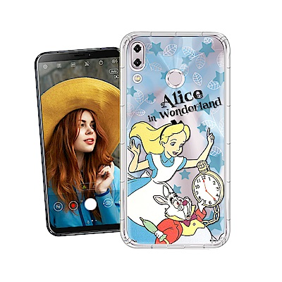迪士尼授權 ASUS Zenfone 5Z ZS620KL 繽紛空壓安全手機殼(愛麗絲)