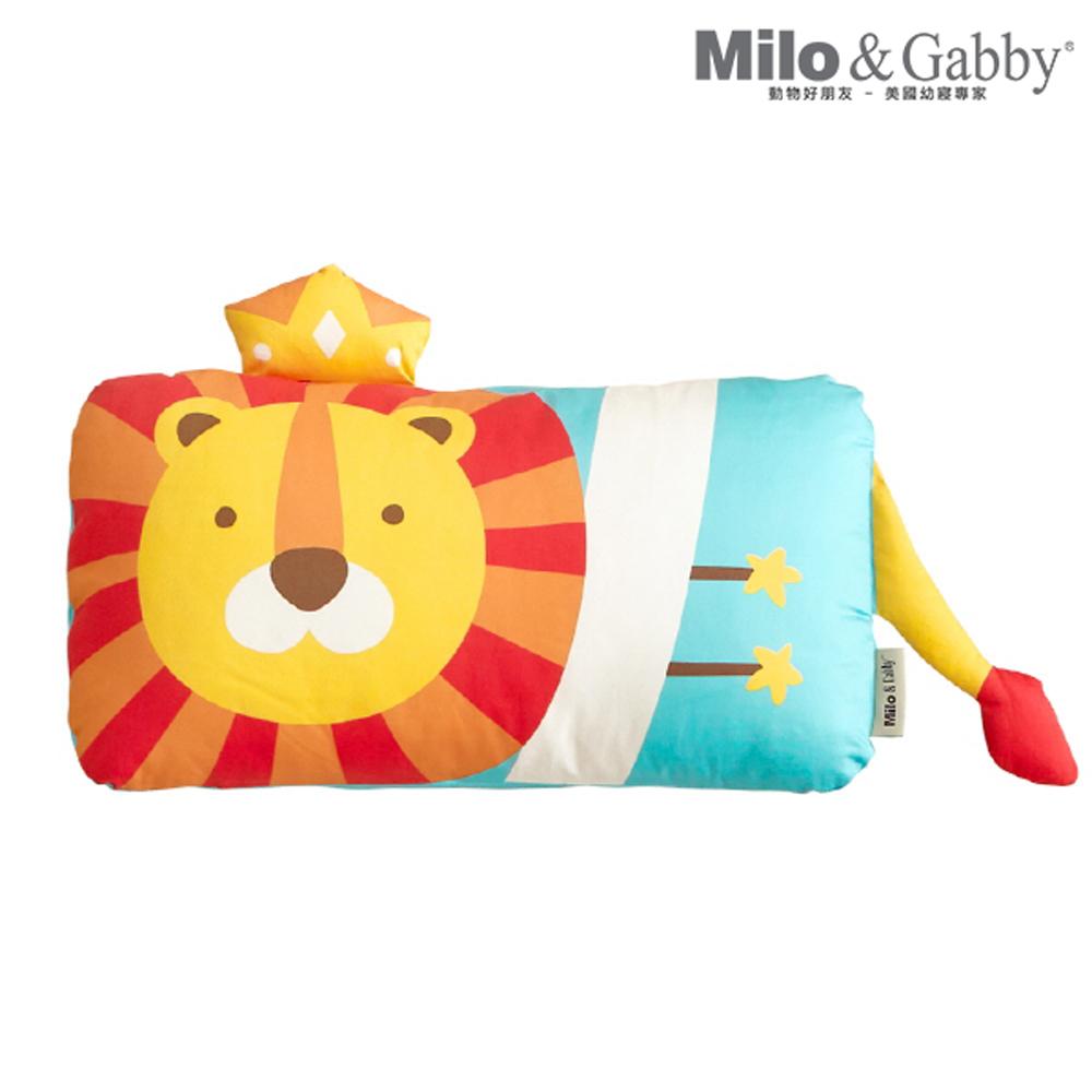 Milo&Gabby 動物好朋友-mini枕頭套(LONNIE小獅王)