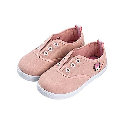 迪士尼童鞋 米妮 可愛扣飾休閒便鞋-粉