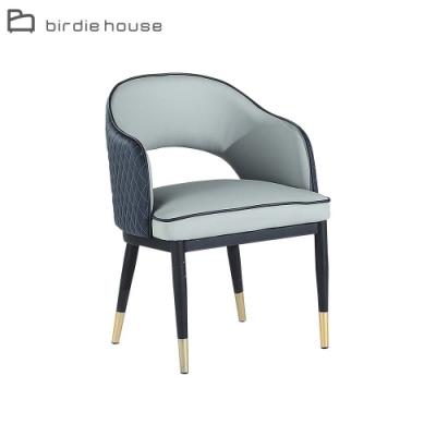 柏蒂家居-艾瑞克質感雙配色餐椅(單椅)-55x60x78cm