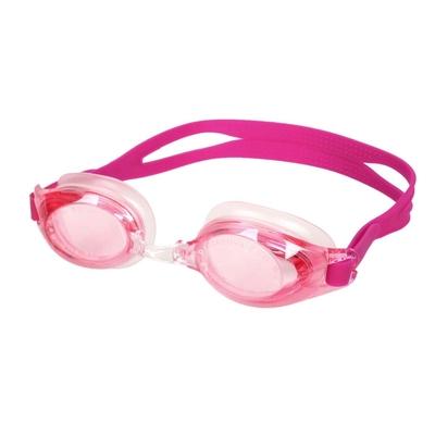 MIZUNO SWIM 泳鏡-台灣製 抗UV 防霧 蛙鏡 游泳 訓練 美津濃 N3TE702000-63 深紫紅
