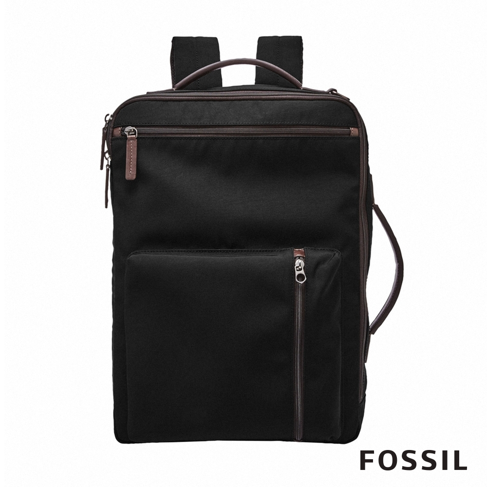 FOSSIL BUCKNER 多功能商務包 (可裝15吋筆電)-黑色 MBG9431001