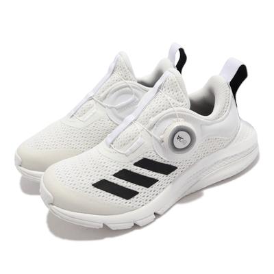 adidas 慢跑鞋 ActiveFlex BOA 運動 童鞋 愛迪達 透氣 避震 環保理念 襪套 中童 白 黑 GX4986