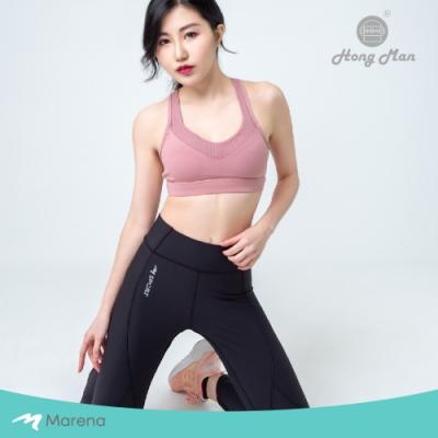 【美國原裝 Marena】瑪芮娜 日常塑身運動 中腰九分塑身褲 全新升級★