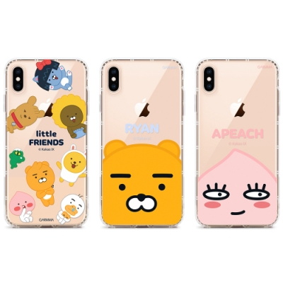 GARMMA KAKAO FRIENDS iPhone X/XS 保護軟殼