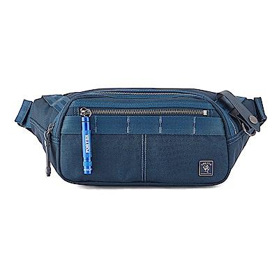 PORTER - 經典新進化NEW HEAT個性休閒腰包 - 普魯士藍