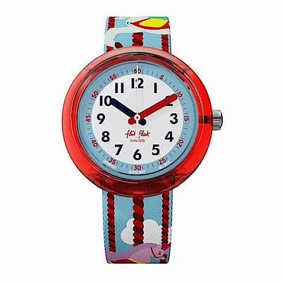 FlikFlak 兒童錶 MARY GO AROUND 旋轉木馬手錶