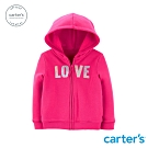 Carter's台灣總代理 LOVE英文字母連帽外套