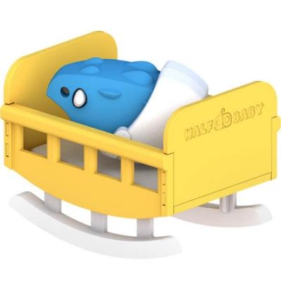 【HALFTOYS 哈福玩具】甲龍寶寶(ANKYLO BABY) STEAM教育玩具