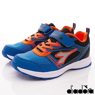 DIADORA 彈力輕量運動跑鞋款 RSE126藍(中大童段)