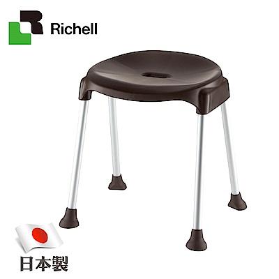 日本利其爾Richell-典雅型斜面椅-深咖啡