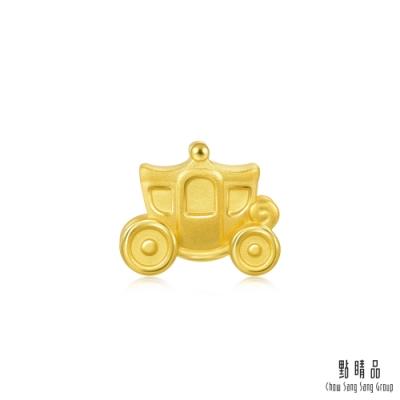 點睛品 999純金 Charme Mini 童話馬車 黃金串珠