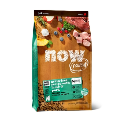 Now! 紅肉無穀天然糧 小型犬配方 3.5磅