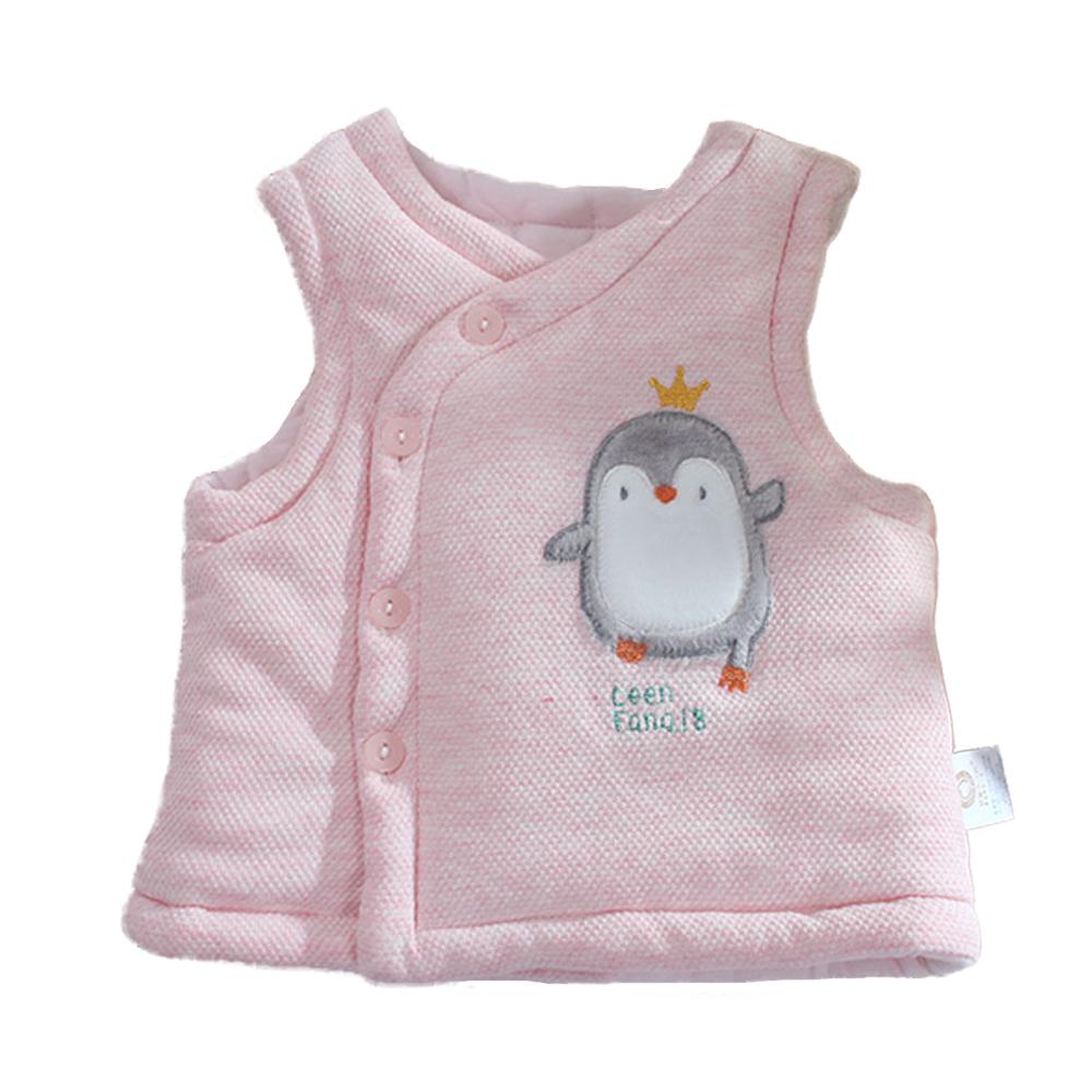 企鵝厚鋪棉極暖背心外套 k60920 魔法Baby