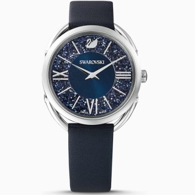 SWAROVSKI施華洛世奇125週年CRYSTALLINE GLAM腕錶-5537961